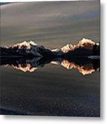 Sunset Peaks Metal Print