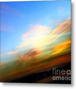 Sunset Reflections - Abstract Metal Print