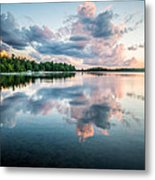 Sunset Relections Metal Print
