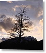 Sunset Ridge Metal Print