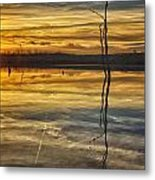 Sunset Riverlands West Alton Mo Dsc03317 Metal Print