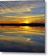 Sunset Riverlands West Alton Mo Dsc03329 Metal Print