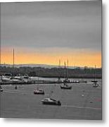 Sunset Romance Metal Print