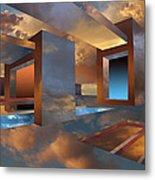 Sunset Room Metal Print