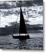 Sunset Sailing -2 Metal Print