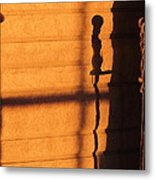 Sunset Shadow Indoor Metal Print