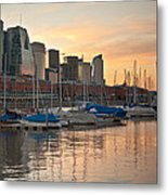 Buenos Aires Sunset Metal Print