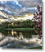 Sunset Southern  Metal Print by Chuck Kuhn
