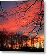 Sunset Spectacular Metal Print