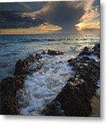 Sunset Spillway Metal Print