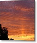 Sunset Sunburst Metal Print