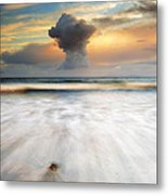 Sunset Talisker Bay Metal Print