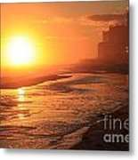 Sunset Towers Metal Print