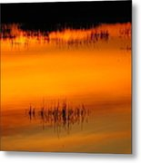 Sunset Tupper Lake Metal Print