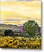 Sunset Verde Valley Thousand Trails Metal Print