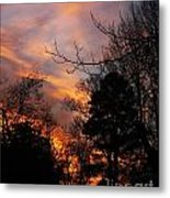 Sunset View From The Path Metal Print