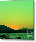 Sunset View  Metal Print
