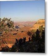 Sunset Vigil Grand Canyon Metal Print