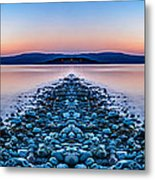 Sunset Way Metal Print