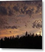 Sunset Metal Print by Yvette Pichette