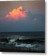 Sunseting Clouds Metal Print