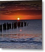 Sunset...naples Style Metal Print