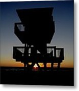 Sunsets Days End Metal Print