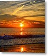 Sunset's Glow  Metal Print
