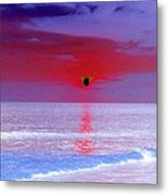 Sunsets On The Water - Photopower 01 Metal Print