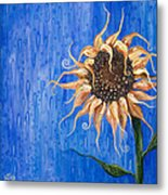 Sunshine After The Rain Metal Print
