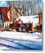 Sunshine After The Snow Metal Print