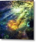 Sunshine Forest Metal Print