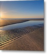 Sunshine On The Beach Metal Print