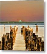 Sunshine State Sunset Metal Print
