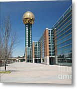 Sunsphere Knoxville Tn Metal Print