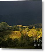 Sunspot After The Storm Metal Print