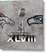 Super Bowl Xlvlll Metal Print