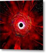 Super Massive Black Hole Metal Print