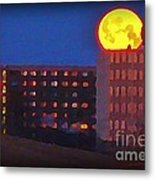 Super Moon In Halifax Nova Scotia Metal Print