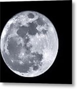 Super Moon Over Arizona  Metal Print