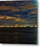 Super Moon Over San Diego 1 Metal Print