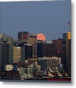 Super Moon San Diego Metal Print