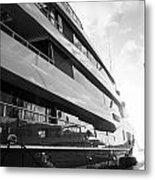 Super Yacht Metal Print