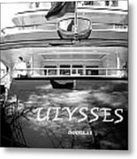 Super Yacht Ulisses Metal Print