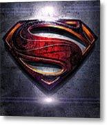 Superman Series 05 Metal Print
