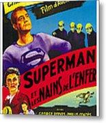 Superman And The Mole-men, Aka Superman Metal Print