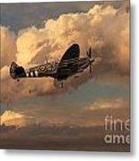 Supermarine Spitfire Mk Lfix  Metal Print