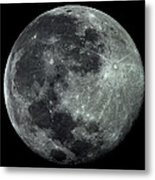 Supermoon In July Metal Print