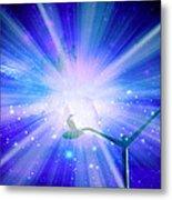 Supernova Viii Metal Print