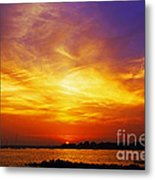 Supersaturated Solution Metal Print